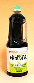 【送料無料】ミツカン ゆずぽん 1.8L  ハンディペット(業務用) ×6個【イージャパンモール】