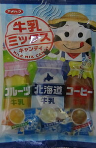【送料無料】★まとめ買い★ アメハマ製菓 V牛乳ミックス ×10個【イージャパンモール】