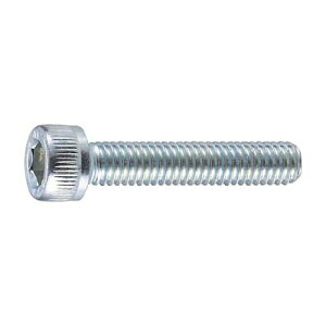 TRUSCO ユニクローム 六角穴付ボルト(全ネジタイプ) 寸法M8×25mm 1パック(24本)