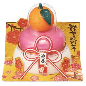 【鏡餅】タイマツ [G−109]お鏡餅橙紅白160g ×24個