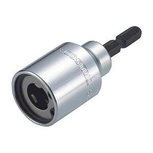 TRUSCO 電動ドライバーソケット(全ネジ適応) ネジ径W3/8 1個
