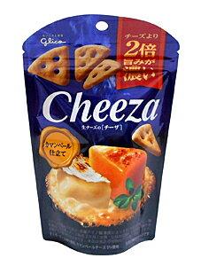 【キャッシュレス5%還元】グリコ 生チーズのチーザ カマンベールチーズ仕立て 40g【イージャパンモール】