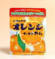 ★まとめ買い★丸川製菓チャック袋オレンジフーセンガム47g×10個
