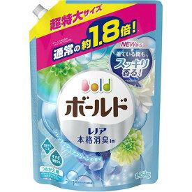 【キャッシュレス5%還元】P&G ボールド ジェル フレッシュピュアクリーンの香り 詰替用 超特大サイズ 1260g 1パック