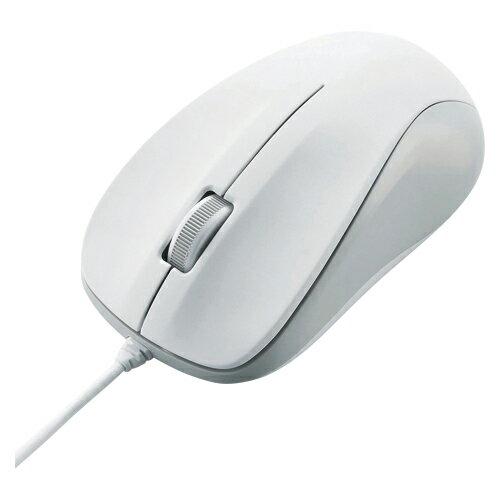 エレコム 光学式マウス USB 3ボタン ホワイト M−K6URWH/RS (866)【返品・交換・キャンセル不可】【イージャパンモール】
