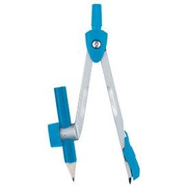 【キャッシュレス5%還元】シルバーカラーコンパス鉛筆用ブルー【返品・交換・キャンセル不可】【イージャパンモール】