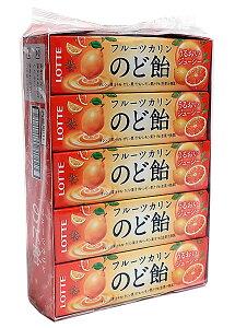 ★まとめ買い★ ロッテ フルーツのど飴スティック 11粒 ×10個【イージャパンモール】