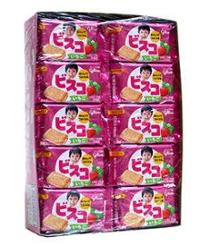 【送料無料】★まとめ買い★ グリコ ビスコミニパック イチゴ 5枚 ×20個【イージャパンモール】