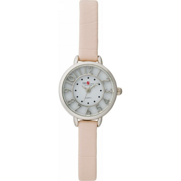 【送料無料】ヴィヴィフルールコレクション レディース腕時計 ピンク VITK−301P【代引不可】【ギフト館】