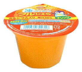 【キャッシュレス5%還元】★まとめ買い★ ブルボン 凍ラせて食べるフルじぇらオレンジ105g ×15個【イージャパンモール】