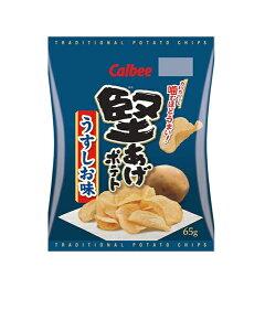 ★まとめ買い★ カルビー 堅あげポテトうすしお味 ×12個【イージャパンモール】