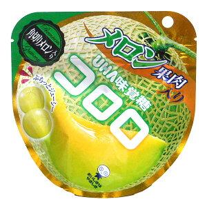 【キャッシュレス5%還元】★まとめ買い★ UHA味覚糖 コロロ メロン 40g ×6個【イージャパンモール】