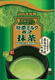 ★まとめ買い★ユーハ味覚糖特濃ミルク8.2抹茶×6個