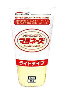 ★まとめ買い★ 味の素 マヨネーズ ライトタイプチューブ 1Kg ×10個【イージャパンモール】