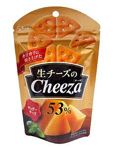 【キャッシュレス5%還元】【送料無料】★まとめ買い★ グリコ 生チーズのチーザ チェダーチーズ 40g ×10個【イージャパンモール】