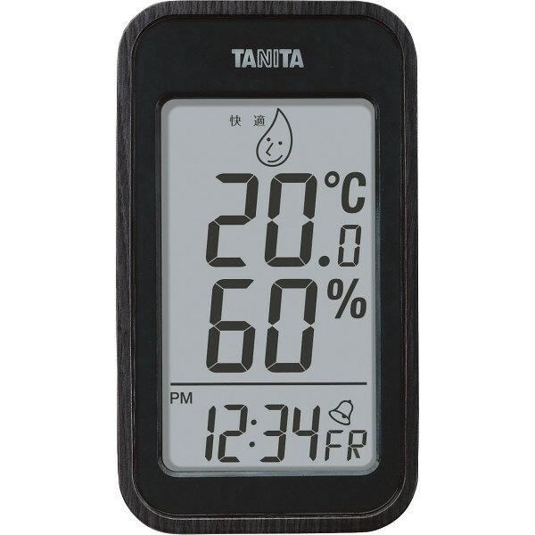 【送料無料】タニタ デジタル温湿度計 ブラック TT−572−BK【代引不可】【ギフト館】