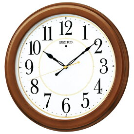 【キャッシュレス5%還元】【送料無料】セイコー スタンダード電波木枠掛時計 KX388B【代引不可】【ギフト館】