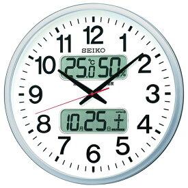 【キャッシュレス5%還元】【送料無料】セイコー 大型電波掛時計 KX237S【代引不可】【ギフト館】