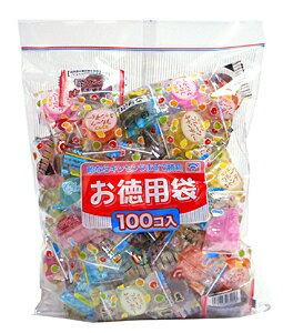 ★まとめ買い★ 金扇 徳用ミックスキャンディー 100個 ×8個【イージャパンモール】