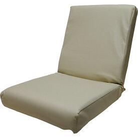 【送料無料】低反発レザー座椅子 アイボリー DS3L IV【代引不可】【ギフト館】