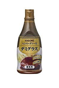 ★まとめ買い★ カゴメ ハンバーグソース デミグラス ボトル 500g ×20個【イージャパンモール】