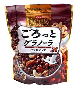 【キャッシュレス5%還元】日清シスコ ごろっとグラノーラチョコナッツ 400g【イージャパンモール】