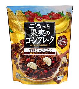 【キャッシュレス5%還元】日清シスコ ゴロット果実のコーンフレーク芳醇チョコ200g【イージャパンモール】