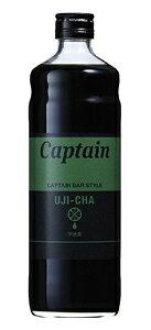 ★まとめ買い★ キャプテン 宇治茶シロップ 瓶 600ML ×12個【イージャパンモール】