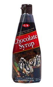 【キャッシュレス5%還元】GS チョコレートシロップ 500g【イージャパンモール】