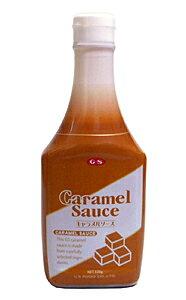 【キャッシュレス5%還元】GS キャラメルソース 520g【イージャパンモール】