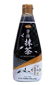 【キャッシュレス5%還元】GS 抹茶ソース 500g【イージャパンモール】