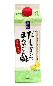 【キャッシュレス5%還元】創味 だしのきいたまろやかなお酢500ml【イージャパンモール】