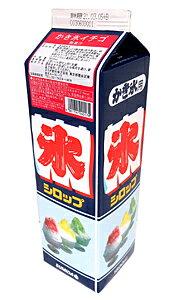 【送料無料】★まとめ買い★ スミダ かき氷イチゴ 紙パック 1800ml ×8個【イージャパンモール】