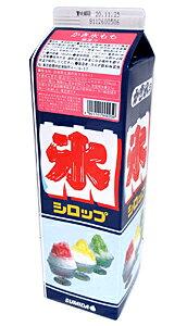 ★まとめ買い★ スミダ かき氷もも 紙パック 1800ml ×8個【イージャパンモール】