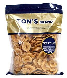 ★まとめ買い★ TON'S バナナチップ 500g ×10個【イージャパンモール】