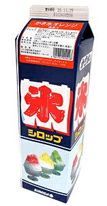 スミダ かき氷オレンジ 紙パック 1800ml【イージャパンモール】