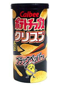 ★まとめ買い★ カルビー ポテトチップクリスプブラックペッパー味50g  ×12個【イージャパンモール】