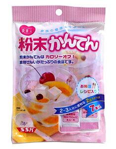 【キャッシュレス5%還元】SSK 食美人粉末かんてん 2g×7本【イージャパンモール】
