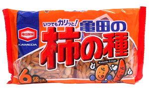 【キャッシュレス5%還元】★まとめ買い★ 亀田 柿の種6袋詰200g   ×12個【イージャパンモール】