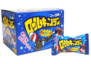 ★まとめ買い★ やおきん ロールキャンディコーラ味20g ×24個【イージャパンモール】