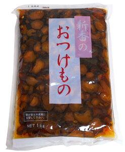 ★まとめ買い★ 新香 きゅうり漬 赤 1Kg ×16個【イージャパンモール】