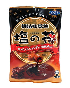 UHA味覚糖 塩の花 焦がしミルクと塩チョコ80g【イージャパンモール】