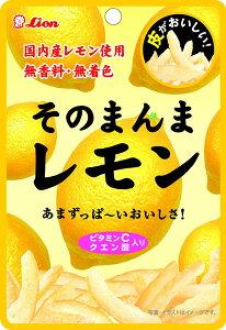 ★まとめ買い★ ライオン菓子 そのまんまレモン ×6個【イージャパンモール】