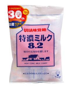 【キャッシュレス5%還元】★まとめ買い★ UHA味覚糖 特濃ミルク8.2 93g ×6個【イージャパンモール】