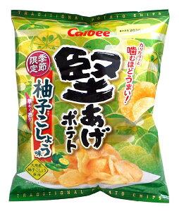 【キャッシュレス5%還元】カルビー 堅あげポテト柚子こしょう味60g 【イージャパンモール】