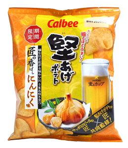 【キャッシュレス5%還元】カルビー 堅あげポテト匠の香ばしにんにく味60g 【イージャパンモール】
