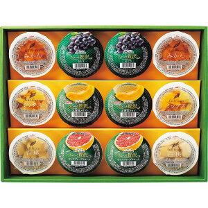 【キャッシュレス5%還元】【送料無料】マルハニチロ 果実たっぷりゼリー6種詰合せ MNJ−30S【ギフト館】