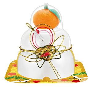 【鏡餅】サトウ 福餅入り鏡餅 小飾り 鶴橙 66g ×30個【イージャパンモール】