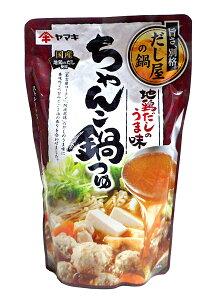 ヤマキ 地鶏だしのうま味ちゃんこ鍋つゆ700g【イージャパンモール】