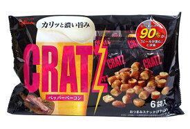 グリコ クラッツペッパーベーコン6袋【イージャパンモール】